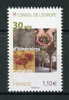 France 2017 MNH Council of Europe Cultural Routes 30 Years 1v Set Stamps