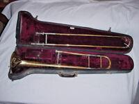 1947 VINTAGE FRANK HOLTON TROMBONE ELKHORN WIS MODEL 65