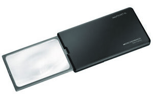 Eschenbach EasyPocket XL152210 LED 'Pop'Up' Black 2.5x Compact Pocket Magnifier