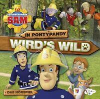 FEUERWEHRMANN SAM - IN PONTYPANDY WIRD'S WILD - DAS HÖRSPIEL  CD NEU