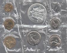 Monete Francia Serie Divisionale 1973 Originale Sigillata di ZECCA CON ARGENTO