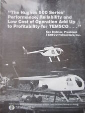 2/1982 PUB HUGHES 500 SERIES HELICOPTER TEMSCO HELICOPTERS KEN EICHNER AD