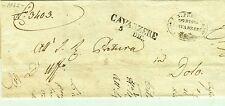 Z19456-LOMBRADO VENETO, PREF., DA CAVARZERE A DOLO, 1842