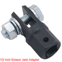 """1/2"""" Scissor Jack Adaptor for Use with 1/2 Inch Drive or Impact Wrench Tools x1"""