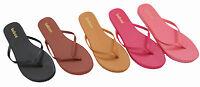 Womens Flip Flop Thong Sandals Flat Slipper Shoes Size 5 6 7 8 9 10