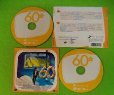 2 CD Compilation I MIGLIORI ANNI 60 CARLO CONTI Paoli Elvis Presley no mc (C51)
