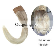 Ombre Blonde Flip in Hair Extensions Halo Remy Human Hair Extension 100G