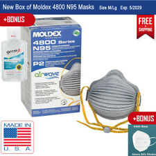 New Box Moldex 4800 With HandyStrap Med/Large Fast Free Ship