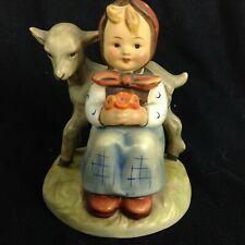 Vintage Hummel #182 Good Friends Tmk2 Girl & Lamb Goebel Figurine Retired