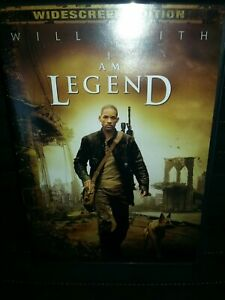 I Am Legend (Widescreen Single-Disc Edition) - DVD - VERY GOOD~WILL SMITH~ZOMBIE