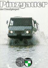STEYR PUCH PINZGAUER 4x4 6x6 Typ 710 712 Off Road Prospekt Brochure 1979 17