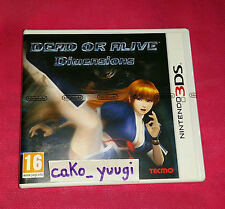 DEAD OR ALIVE DIMENSIONS NINTENDO 3DS NEUF VERSION FRANCAISE