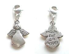 Angel Pendant LITTLE ANGEL CHARM ~ aharm Bracelet Angel Charm Guardian Angel