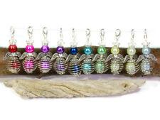 10 Anhänger Engel Farbmix bunt DIY Bastelset Drahtperle Perlenengel