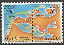ITALY. 1990 Columbus's First Voyages Commemorative. SG: 2050a. Mint Never Hinged