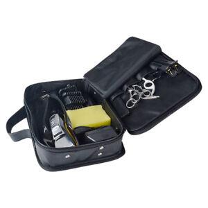 Portable Barber* Tools Bag Salon Hair Styling Clipper Comb Scissors Storage Kit