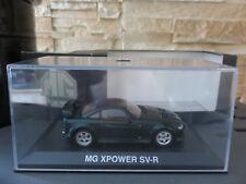 VOITURE MINIATURE NOREV MG XPOWER SV-R 1/43 EN BOITE TBE