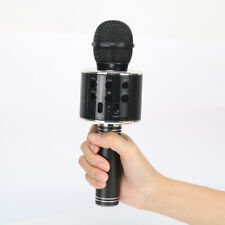 Bastex Black Bluetooth Singing Microphone Speaker Mic for Fun Home Use