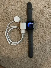 Apple Watch Series 3 42mm Aluminium Case Black Sport Band with All Items