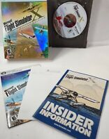 Microsoft Flight Simulator X: Deluxe Edition PC Complete Manual /Product Key