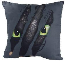 Dragons Dreamworks**Ohnezahn Toothless Krallen** Kissen  35x35 cm,schwarz NEU