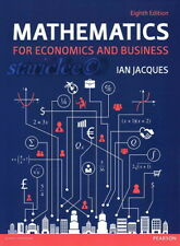 NEW 3 Days AUS Mathematics for Economics and Business 8E Ian Jacques 8th Edition