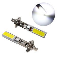 2x H1 7.5W COB LED Bombilla para Faro Lámpara Auto Coche Color Blanco 6000K