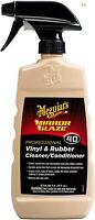 Meguiar's Mirror Glaze Vinyl & Rubber Cleaner/Conditioner – Restores Life 16 oz