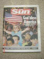 The Sun newspaper Original 14th September 2001 (twin towers)