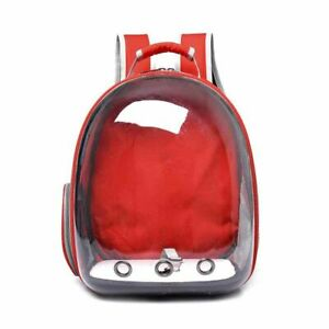 Dog Cat Backpack Carrier Ventilated Breathable Pet Bag Travel Camping Outdoor