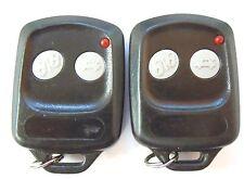 Pair keyless remote key alarm two 2 button OARTXAM01 control clicker key fob fab
