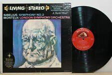 RCA LSC 2342 - MONTEUX - Sibelius Symphony 2 - 1ST US LIVING STEREO - 6S/4S
