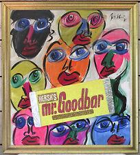 Peter Keil - Signed & Framed 1975 Painting - Mr Goodbar - 32x36 Berlin - COA