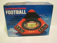 VTG Vtech Electronic Talking Football Game In Box 1987   no trap