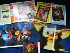 1980s GREMLINS Japan 37 Clippings & 4 Posters Zach Galligan Phoebe Cates VERY RA