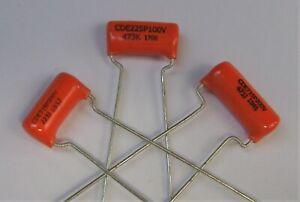 Genuine Sprague Orange Drop Capacitor Cap for Guitar .022uf  or .047uf