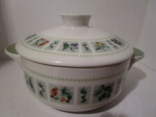 """Royal Doulton Tapestry Individual Casserole Oven Ware #1024 With Lid 5"""""""