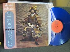 NEW YORK TOKYO DOLLS LIVE blue vinyl DAVID & SYLVAIN Fan Club FC018 LP FRANCE 86