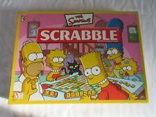 The Simpsons Scrabble Board Game Mattel