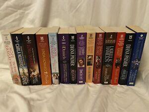 Mixed lot of 14 Romance novels - Hope Ramsey, Diana Palmer & more