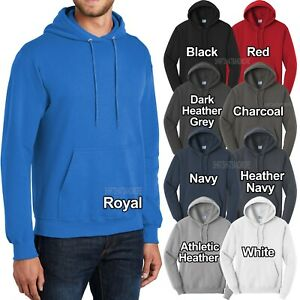Mens Big and Tall Hoodie Pullover Hooded Sweatshirt LT, XLT, 2XLT, 3XLT, 4XLT