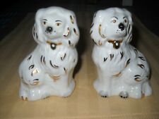 "Beswick English Staffordshire  china Spaniel Dogs 3 1/2 """
