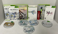 NICE! Final Fantasy XI Seekers Edition XIII XIII-2 Bundle Lot Complete Xbox 360