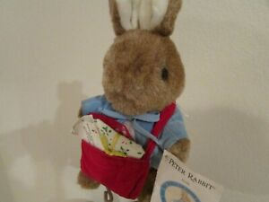 Vintage Beatrix Potter Peter Rabbit Stuffed Plush Eden