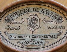 anc boite vide savonnerie continental du cosmydor