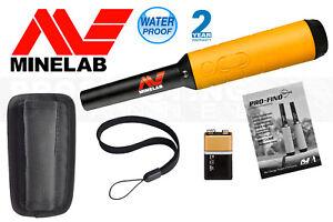 Waterproof MINELAB PRO-FIND 35 PROBE Metal Detector w/ Ferrous Tone ID