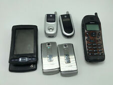 Lot of Vintage Cell Phones, Bar Flip Phones, Moto,Nokia/Lg, Palm Lot of 6 As Is