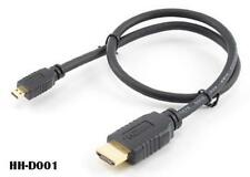 1.5 Ft HighSpeed Micro-HDMI to HDMI Cable w/ Ethernet, HH-D001