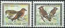 Timbres Oiseaux Féroé 292/3 ** année 1996 lot 20745