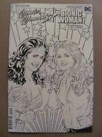 Wonder Woman 77 Bionic Woman #1 DC Dynamite 2017 Coloring Book Variant 9.6 NM+